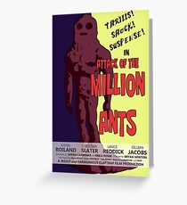 Attack of the Million Ants (Rick & Morty) Greeting Card