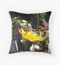 Nectar Breakfast Throw Pillow