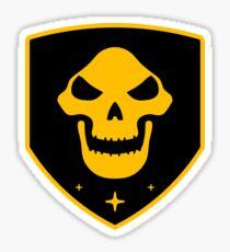 Reaper Faction Yellow Sticker