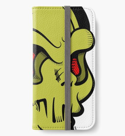 Skully iPhone Wallet