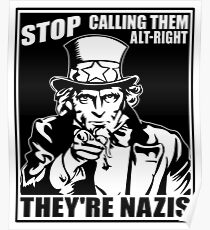 Anti Alt Right Poster