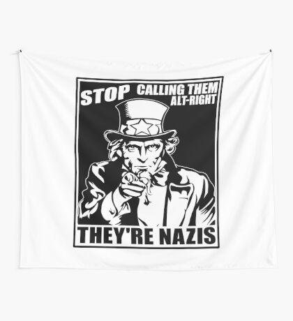 Anti Alt Right Wall Tapestry
