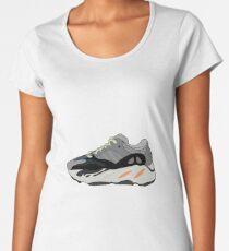 Camiseta premium para mujer Yeezy Wave Runner 700