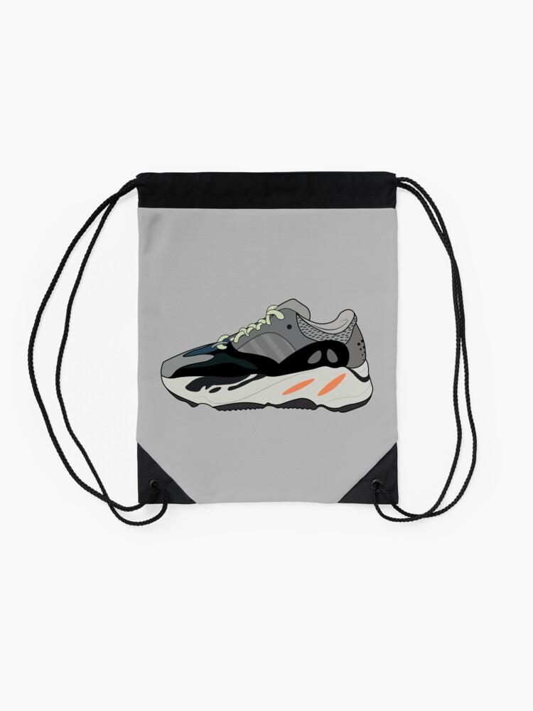 ad0246128 Alternate view of Yeezy Wave Runner 700 Drawstring Bag