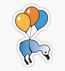 Balloon Ride Sticker