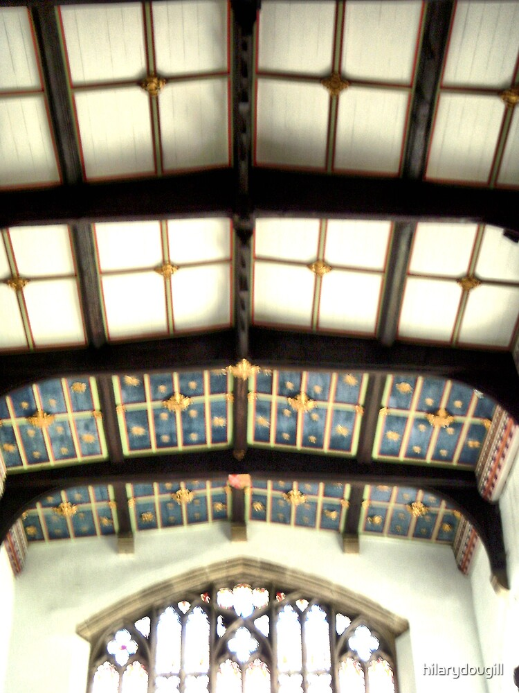 The ceiling of St Marys- Staindrop by hilarydougill