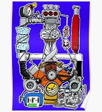 Colossal PowerTrain Poster