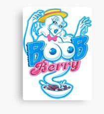 Boob Berry Canvas Print