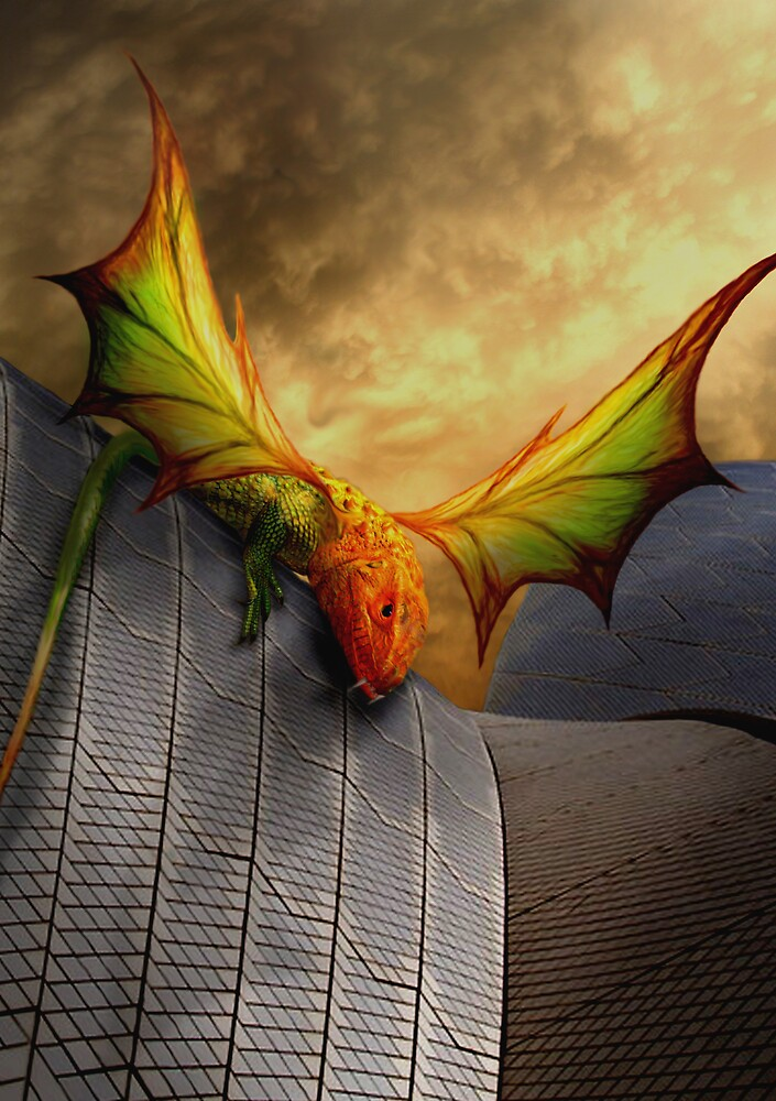 Dragon Of The Opera by Cliff Vestergaard