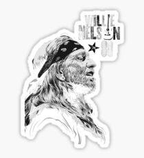 Willie Nelson New Design T-shirt Sticker