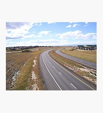 """ Freeway "" Photographic Print"