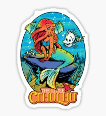 The Funny Little Cthulhu Sticker
