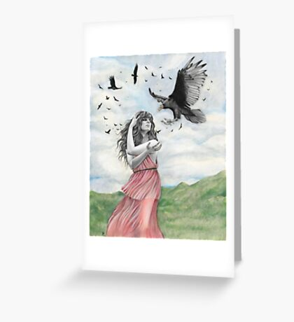 Sisters of the Sun Greeting Card