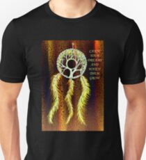 Dream Catcher Gold T-Shirt