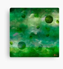 Aquatic Forest (Aquatic Creature) Canvas Print