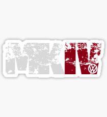MKIV (white) Sticker