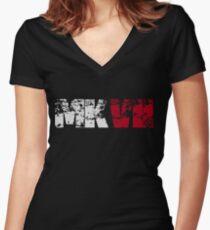 MKVII Women's Fitted V-Neck T-Shirt
