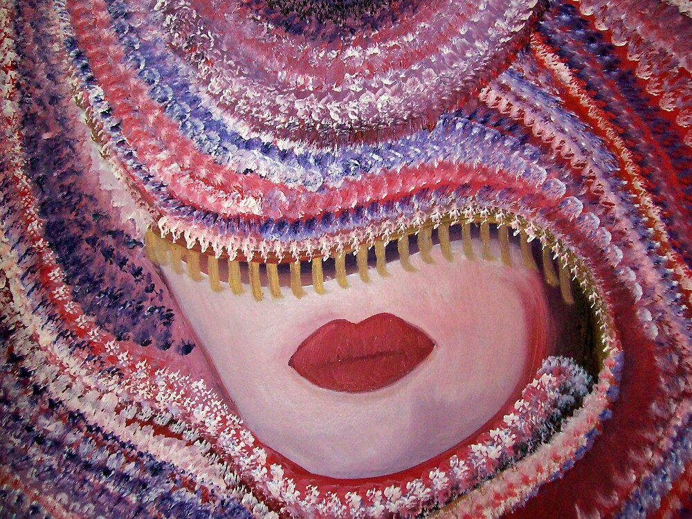 CARNIVAL Contemporary portrait Oil painting by coolart