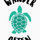 Wander Often Turtle Travel Tank by orvin