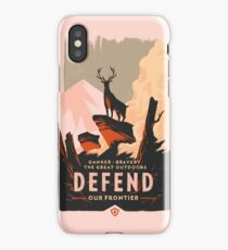 Firewatch - Defend our Frontier iPhone Case/Skin