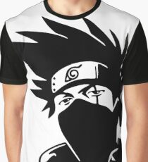 Kakashi Hatake - Naruto Graphic T-Shirt