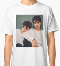 twins in white only  Classic T-Shirt