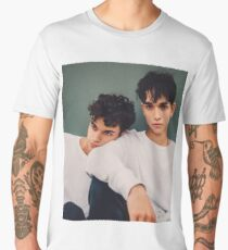 twins in white only  Men's Premium T-Shirt