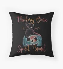 Thackery Binx is My Spirit Animal Throw Pillow