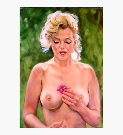 portrait of Marilyn Monroe Photographic Print