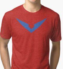 "Lance Blue Paladin Voltron ""V"" Logo Tri-blend T-Shirt"