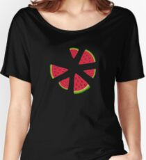 Watermelons in the dark Women's Relaxed Fit T-Shirt