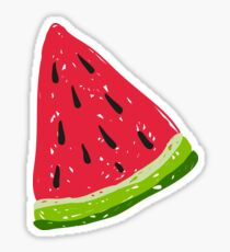 Watermelons in the dark Sticker