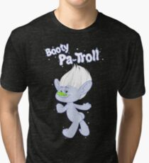 Trolls Guy Diamond: Booty Pa-Troll Tri-blend T-Shirt
