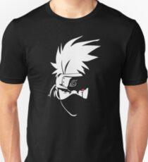 Kakashi Hatake Face - Naruto Unisex T-Shirt