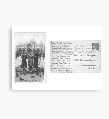Postcard from Venice Metal Print