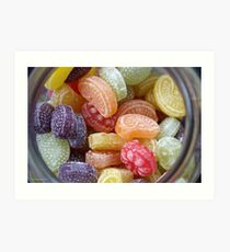 Heller & Strauss Tutti Frutti Fruit Flavored Candies - Made In Germany Art Print