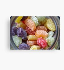 Heller & Strauss Tutti Frutti Fruit Flavored Candies - Made In Germany Canvas Print