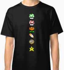 Super Mario World SNES Power Ups Classic T-Shirt