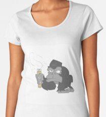 vaping ape Women's Premium T-Shirt
