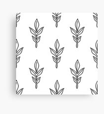 Seamless Drawing Pattern Wallpaper #20 Canvas Print