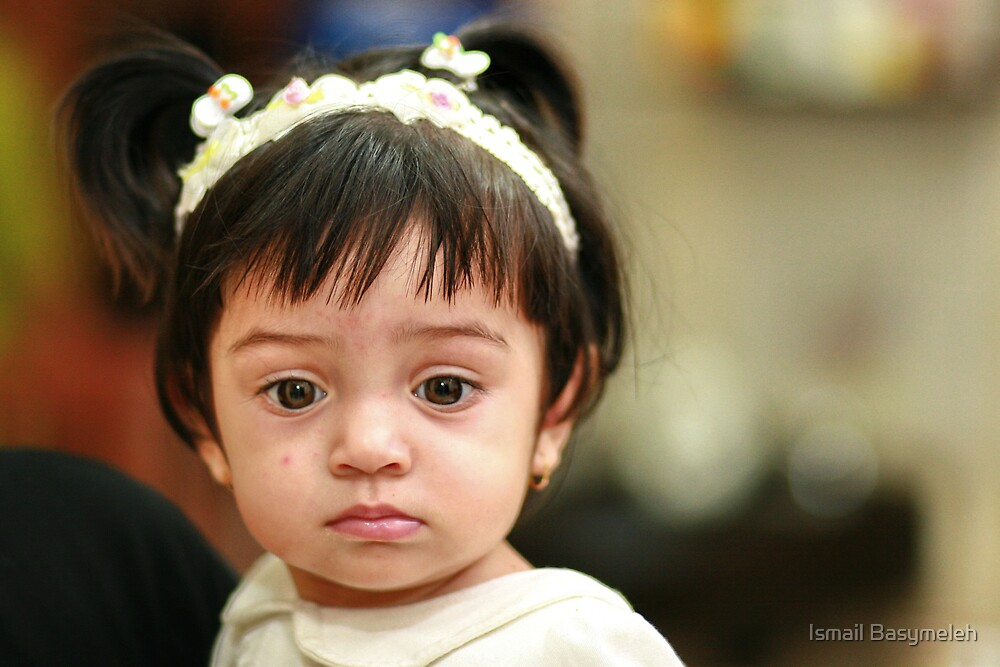 A cute baby girl by Ismail Basymeleh