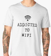 ADDICTED TO WIFI Men's Premium T-Shirt