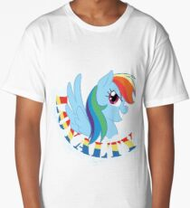 Elements of Harmony - Rainbow Dash Long T-Shirt