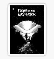 Flight Of The Navigator Sticker
