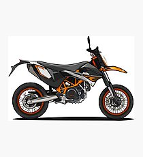 KTM 690SMR Motorcycle Photographic Print