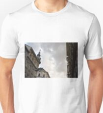Buildings in Vienna at sunset with cloudy sky T-Shirt