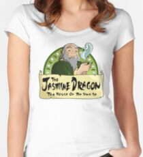 The Jasmine Dragon Tea House Women's Fitted Scoop T-Shirt