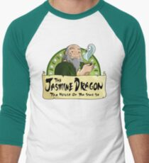 The Jasmine Dragon Tea House Men's Baseball ¾ T-Shirt