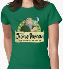 The Jasmine Dragon Tea House Women's Fitted T-Shirt