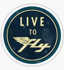 Live to Fly Sticker